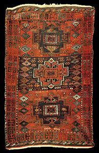 Antique Adiyaman rug, South East Anatolia, Turkey, 19th ...