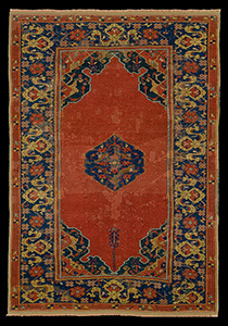 Small Medallion Ushak Carpets
