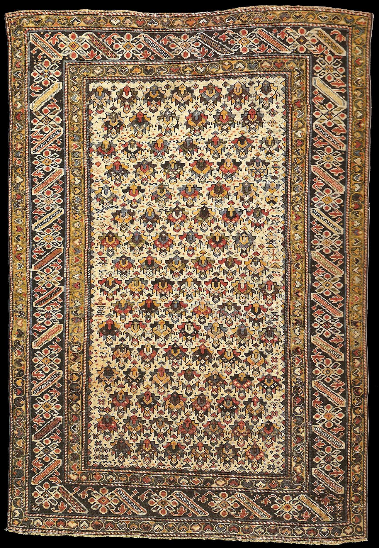Antique Caucasian Kuba Tschi Tschi carpet, second half of ...