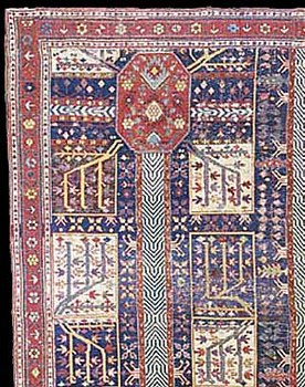 Early nw iran azerbaijan rugs and carpets for Garden design 18th century